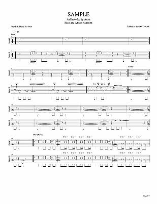 COLLECTIVE SOUL GUITAR Tab HINTS ALLEGATIONS AND THINGS LEFT PDF ...