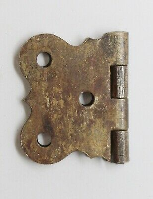 Antique Brass Butterfly Surface Cabinet Hinge 3