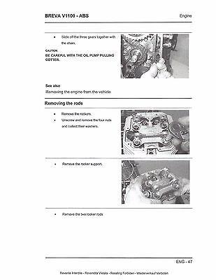 moto guzzi breva v 1100 abs 2007 service repair manual