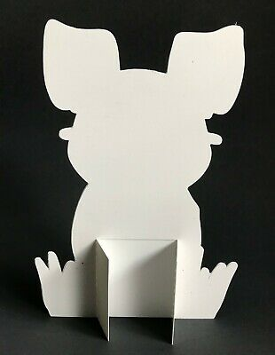 """Black and white French Bulldog Easter Bunny 7""""  Decor 3"""