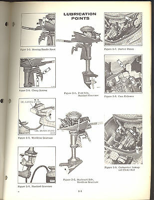 1970 johnson 4hp outboard service manual models 4r70 4w70 jm rh picclick com 4 HP Johnson Outboard Parts Johnson Outboard Manual PDF