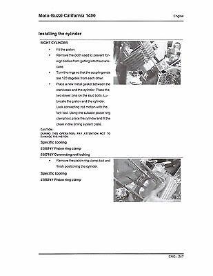 moto guzzi mms california 1400 service repair manual 2012 2013