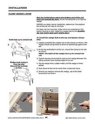 bruno sre 2750 installation manual
