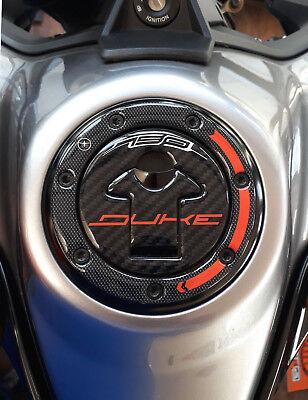 Protection Bouchon Du R/éservoir R/ésine Gel 3D pour Moto Compatible avec KTM 890 Duke R