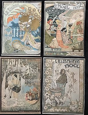 Affiche 9 Couvertures Originales De La Revue Illustrations De 1892 A 1900 2