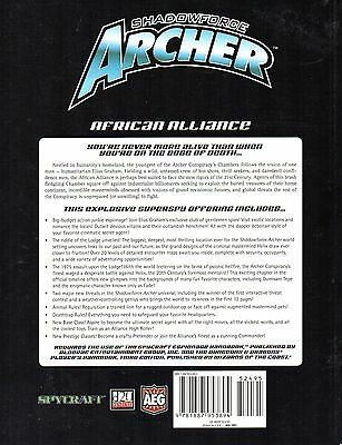SHADOWFORCE ARCHER-AFRICAN ALLIANCE-A d20 Roleplaying Game-RPG-d20-(SC)