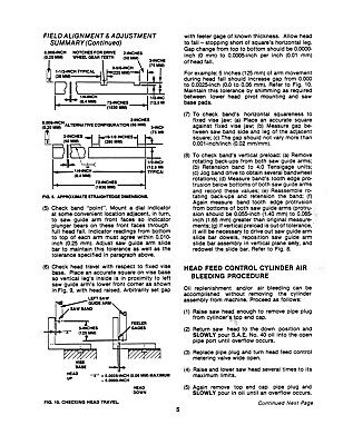 Metalworking Manuals, Books & Plans DoALL C-916A Metal Bandsaw ...