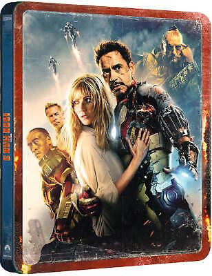 Iron Man 3 : 4K UHD + 2D Blu-ray, UK Exclusive STEELBOOK, Marvel, *In Hand Now 8