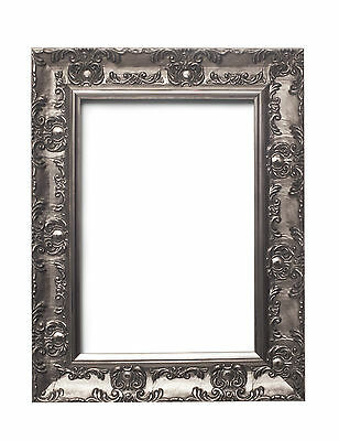 WIDE Ornate Shabby Chic Antique swept Picture photo frame Gold /SILVER  /MUSE 4