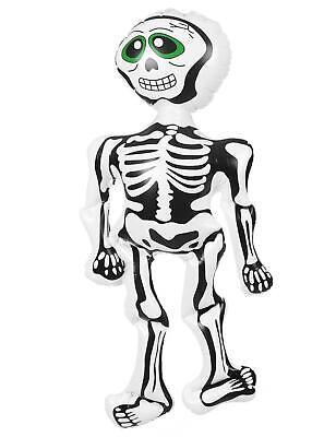 6 X Gruselig Halloween Requisite Aufblasbares Skelett Deko Spukhaus Spaß Party 2