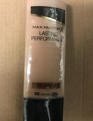 Max factor Lasting performance Foundation/ sealed/35 ml  (Choose Your shade ) 6