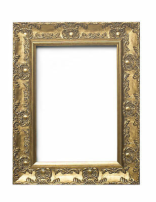 WIDE Ornate Shabby Chic Antique swept Picture photo frame Gold /SILVER  /MUSE 2