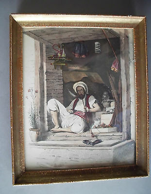 Antique Original Colored - Oriental Gravure by De GHOUY - 1840 4