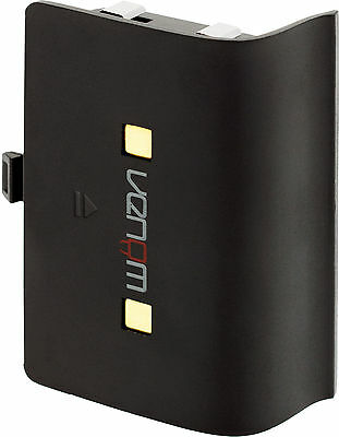 Venom Xbox One Twin Charging Station & Battery Packs - Black - VS2851R 4