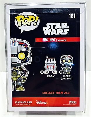 """60 FUNKO POP! Box Protectors For 4"""" Vinyl Figures  Crystal Clear Display Cases 4"""