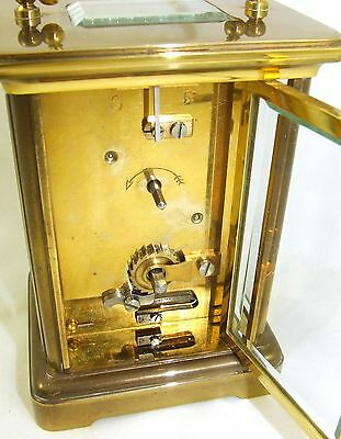 Wonderful Swiss Brass Carriage Clock : MATTHEW NORMAN LONDON SWISS MADE 12 • EUR 410,33