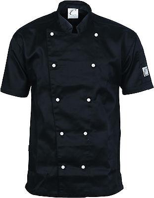 Traditional Chef Jacket Short Sleeve DNC Work Wear 1101 4