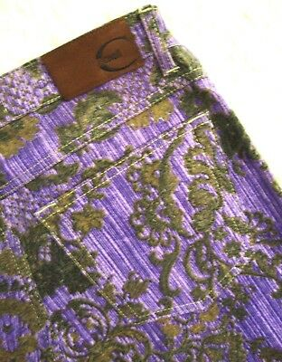 TROUSERS woman vintage 90's JUST CAVALLI  tg.29 circa M made Italy  RARE 7