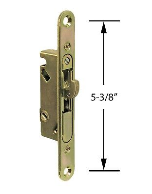 Patio Door Mortise Lock and Keeper Kit Replacement Sliding Glass
