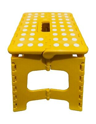 Heavy Duty Plastic Step Stool Foldable Multi Purpose Home Kitchen Use 2
