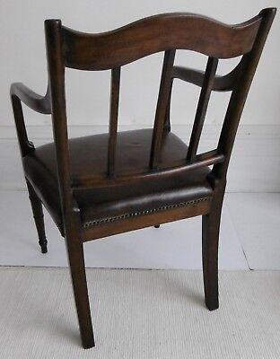 Regency period Mahogany Elbow Chair, circa 1810. 3