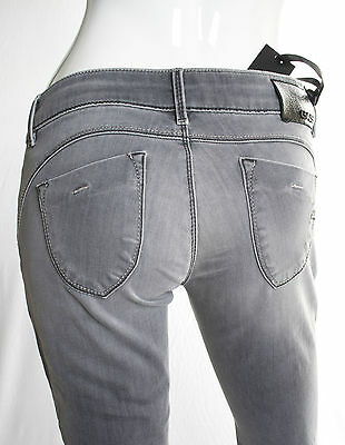 Jeans Gas Donna Beautiful Body Fit  Slim Superstretch Grigio Invecchiato 7