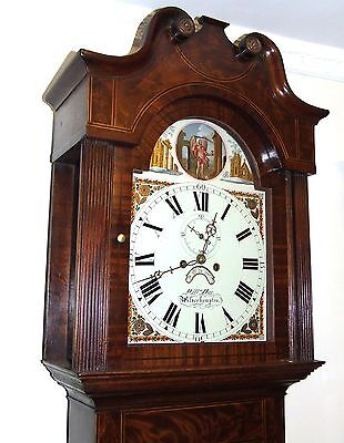Antique ROCKING FATHER TIME Longcase Grandfather Clock : HAY WOLVERHAMPTON 4