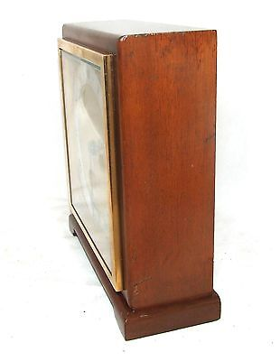 Large ELLIOTT LONDON Walnut Bracket Mantel Clock : H L BROWN & SON LTD SHEFFIELD 7