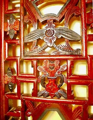 Antique Chinese Screen Panels (2760)(Pair), Cunninghamia Wood, Circa 1800-1849 10