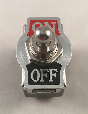 Metal Rocker Toggle Switch Heavy Duty 4 Pin DPST On//Off 2 Position Dash Car Boat