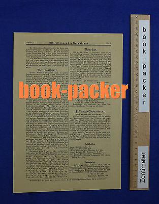 MITTEILUNGEN 1923 Nr. 5 (Verband der Buchdrucker & Papierverarbeiter Berlin) 2
