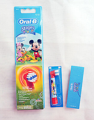 Genuine Oral-B Braun Stages Power  Toothbrush Replacement Heads For Kids 6