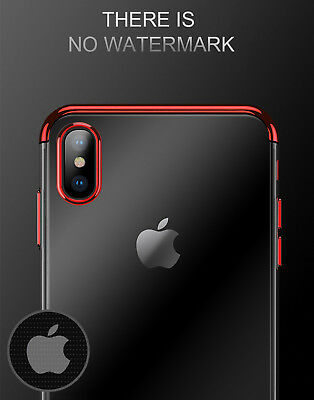 Luxury Ultra Slim Shockproof Silicone Clear Case Thin Cover For Apple iPhone XR 9