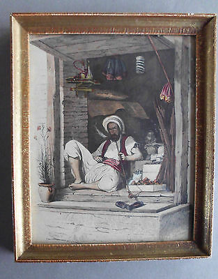 Antique Original Colored - Oriental Gravure by De GHOUY - 1840 3