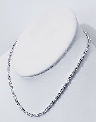 3Mm Diamond Tennis Chain Vvs1 Crystals Best Quality 14Kt Real Gold Finish 3