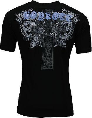 New Mens Graphic Print T Shirt Biker Top Cotton Crew Neck Tee Top Summer Cotton 3