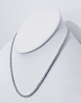 3Mm Diamond Tennis Chain Vvs1 Crystals Best Quality 14Kt Real Gold Finish 5