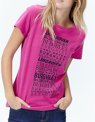 JOULES Burghley Horse Trials Official T-Shirt Tee Sz 10 12 14  FreeUKP&P 3
