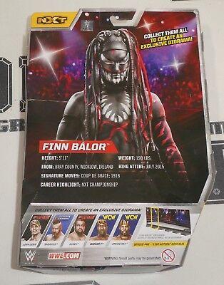 FINN BALOR SIGNED WWE NXT Elite 46 Demon Action Figure BAS Beckett COA  Autograph