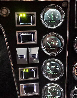 de Tomaso Pantera Power Window Switch Billet Aluminum Replacement 1971-1974