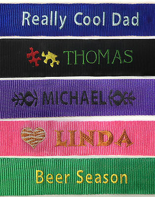Personalised Embroidered Luggage Strap, Combination Lock with Password, bag, Tag 5