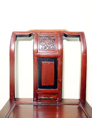 Antique Chinese Ming Chairs (5435) (Pair), Zelkova Wood, Circa 1800-1949 3