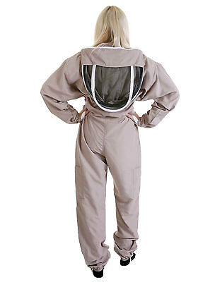 Lightweight BUZZ Beekeepers Bee suit - Colour latte, Size: SMALL 5