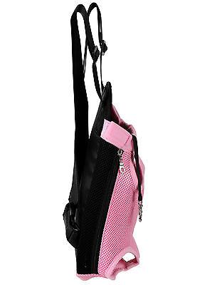 Pet Carrier Backpack Adjustable Pet Front Cat Dog Carrier Travel Bag Legs Out 9