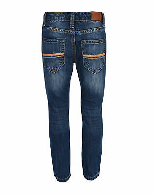 Ben Sherman Boys Mid Blue Jeans BSH0124S UK 2-3 Years VR145 017 2
