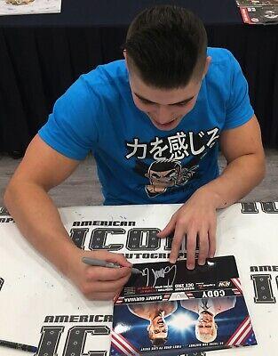 Sammy Guevara Autografato 8x10 Foto Immagine Aew 1st TV Partita V Cody Rhodes 3