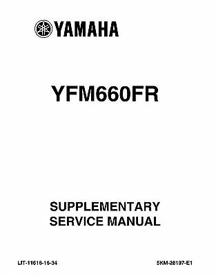 Parts & Accessories Yamaha Grizzly YFM 660 2002-2006 Service ...