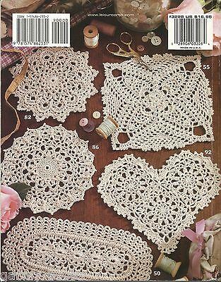 99 Little Doilies Patricia Kristoffersen Doily Crochet Pattern Book LA 3228 NEW