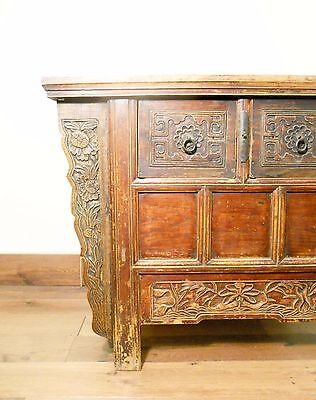 "Antique Chinese ""Butterfly"" Coffer (5626), Circa 1800-1849 3"