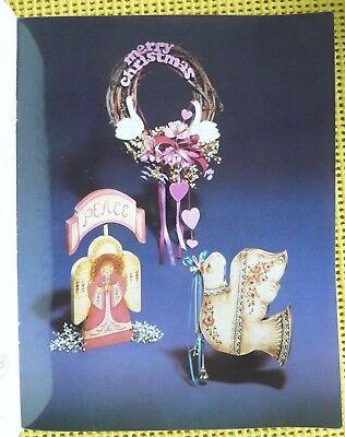 MORE SANTAS, ETC by M.WILBURN & S.J.HALL WOOD TOLE PAINTING BK 1985 - FOLK ART 6